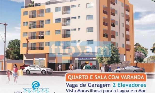 Lançamento Edifício Adilson Amorim Apartamento 1 quarto na Enseada Azul Guarapari ES