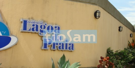 Lote com casa e piscina condomínio Chácara Lagoa da Praia Guarapari