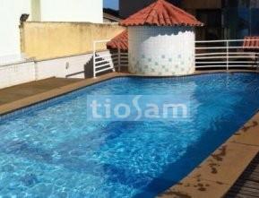 Apartamento dois quartos + DCE prédio frente mar Praia do Morro Guarapari ES