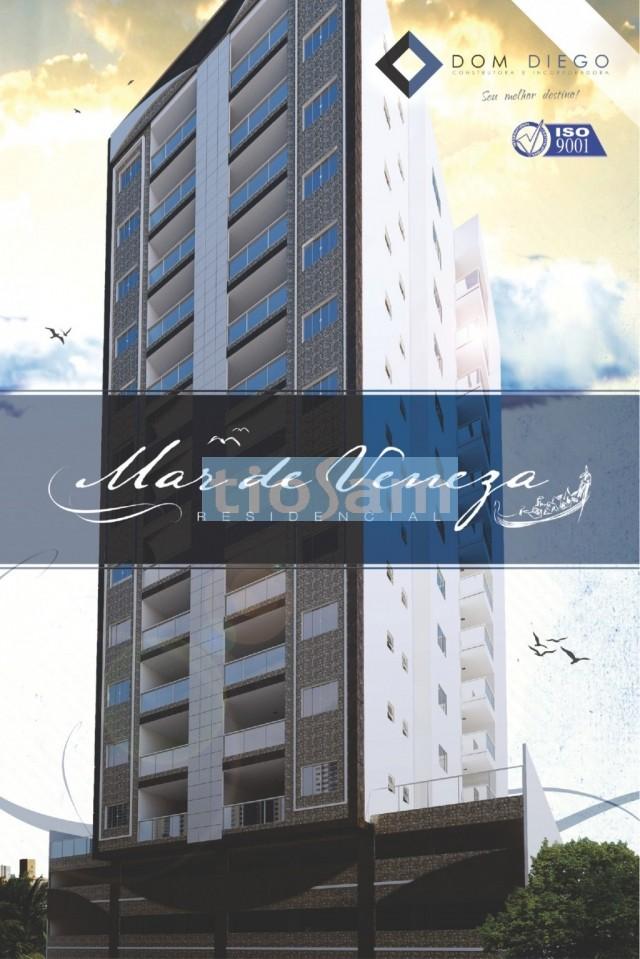 Lançamento Edifício Residencial Mar de Veneza dois quartos Praia do Morro