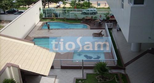 Apartamento 3 quartos prédio frente mar Enseada Azul Guarapari ES