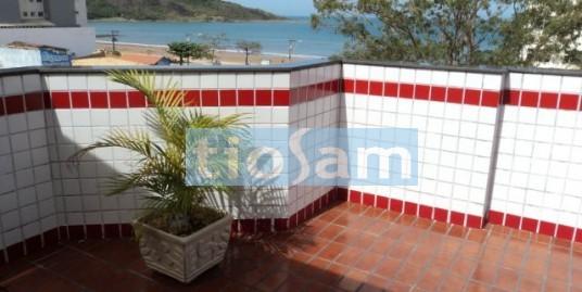 Cobertura 3 quartos quadra do mar Praia do Morro Guarapari