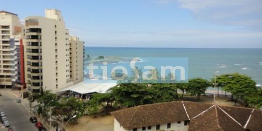 Apartamento 3 quartos de frente com vista para o mar no Centro de Guarapari