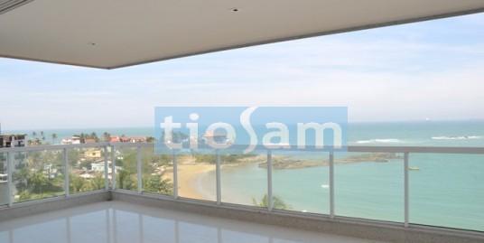 Edifício Splendido Enseada Apartamento de frente para o mar 1 por andar, 4 suítes na Enseada Azul Guarapari