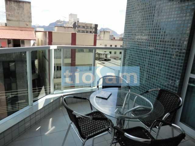 Ed. Shopping Beira Mar apartamento semi mobiliado com  3 quartos Praia do Morro Guarapari