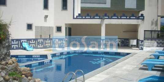Apartamento dois quartos + 1 reversível Praia do Morro Guarapari