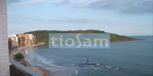 Edifício Sol e Mar apartamento 3 suítes mobiliado frente para o mar Praia do Morro Guarapari