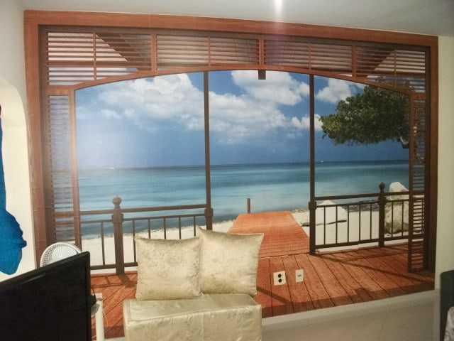 Edifício Central Beach Apartamento 1 andar 2 suítes com lazer na Praia do Morro Guarapari