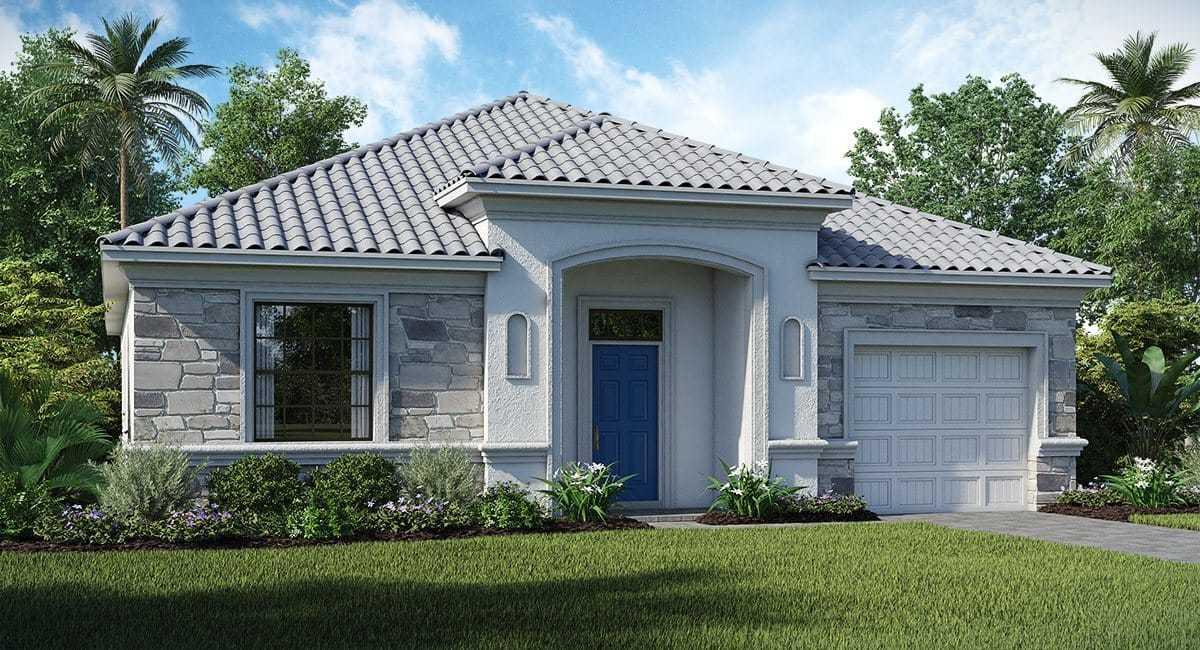 Casa com quatro dormitórios em condomínio com dois campos de golfe ChampionsGate Orlando FL USA