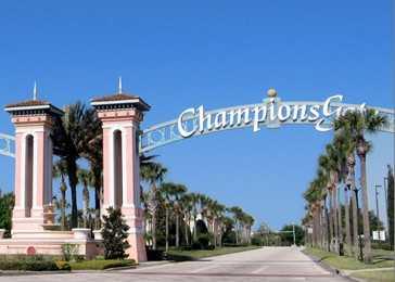 Luxuoso condomínio fechado ChampionsGate casa com 4 dormitórios em Orlando Flórida EUA