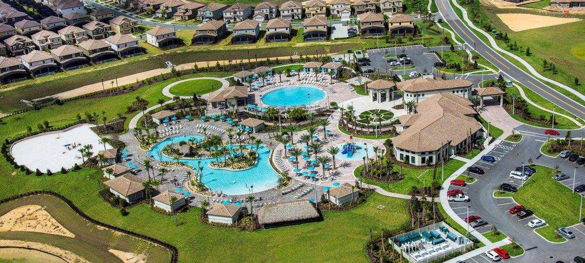 Casa com 8 dormitórios em condomínio fechado ChampionsGate em Orlando FL USA