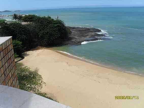 Edifício Seaport cobertura mobiliada frente mar 4 dormitórios Praia do Riacho Guarapari ES