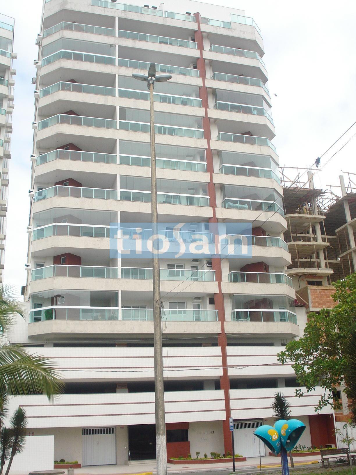 Edifício Oly Fonseca área externa apartamento 2 quartos quadra do mar Praia do Morro Guarapari ES