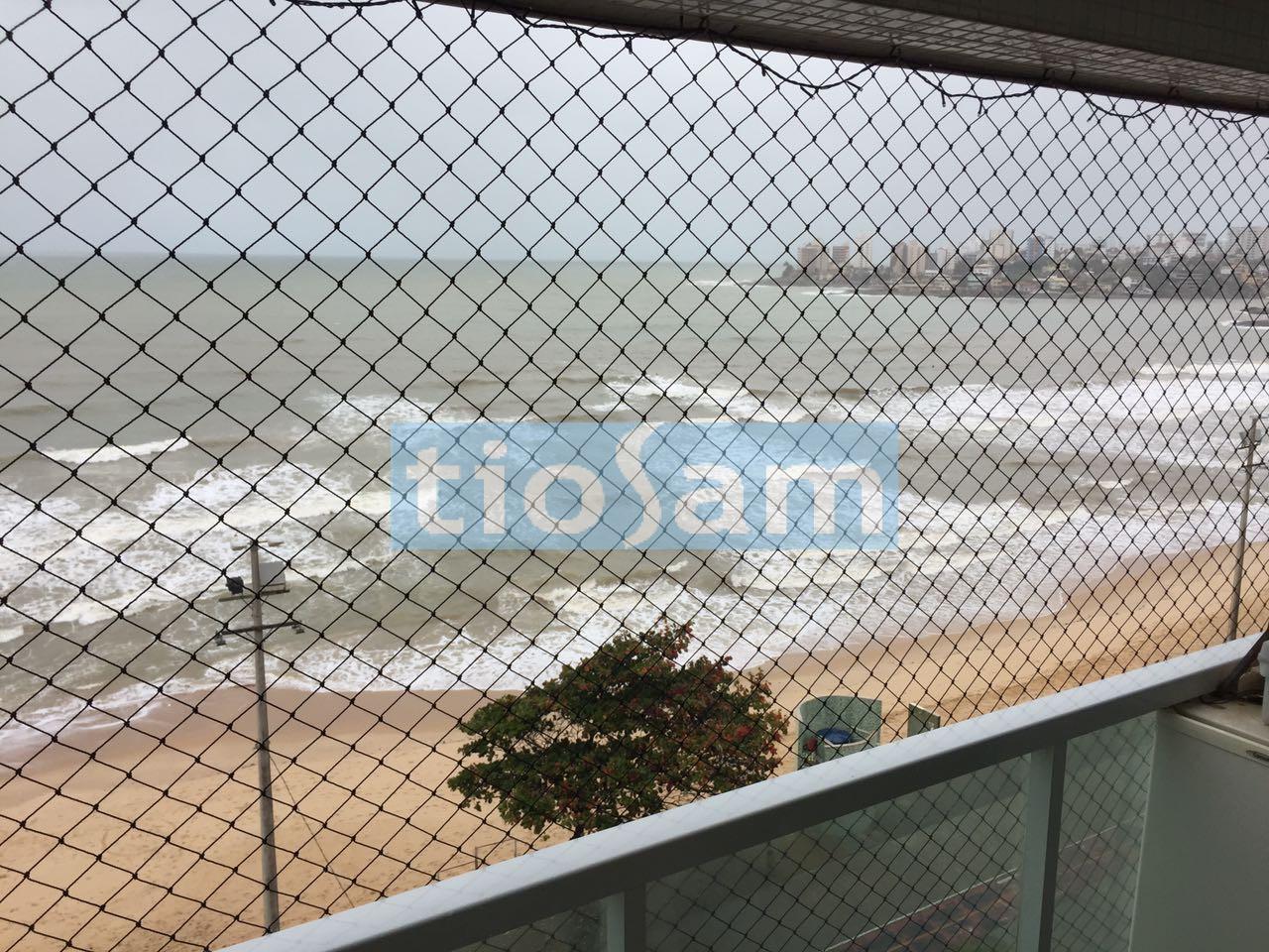 Edifício Galiah 3 quartos frente para o mar Praia do Morro Guarapari ES