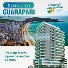 Residencial Refinatto 2 quartos varanda gourmet Praia do Morro Guarapari ES