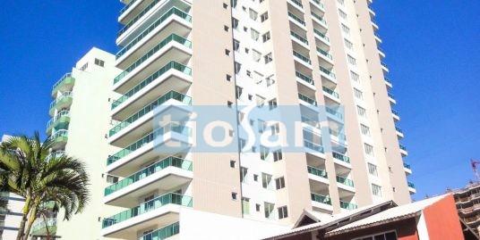 Edifício Blue Marine apartamento dois dormitórios decorado centro de Guarapari ES