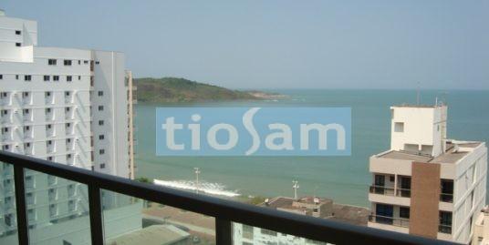 Edifício Bellagio 3 quartos com vista para a Praia do Morro Guarapari
