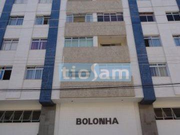 Edifício Bolonha apartamento 1 quarto com mobilia fixa DCE Praia do Morro Guarapari ES