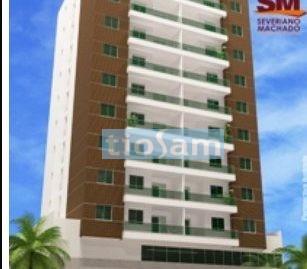 Edifício Del Pietro apartamento 2 quartos mobiliado Praia do Morro Guarapari ES