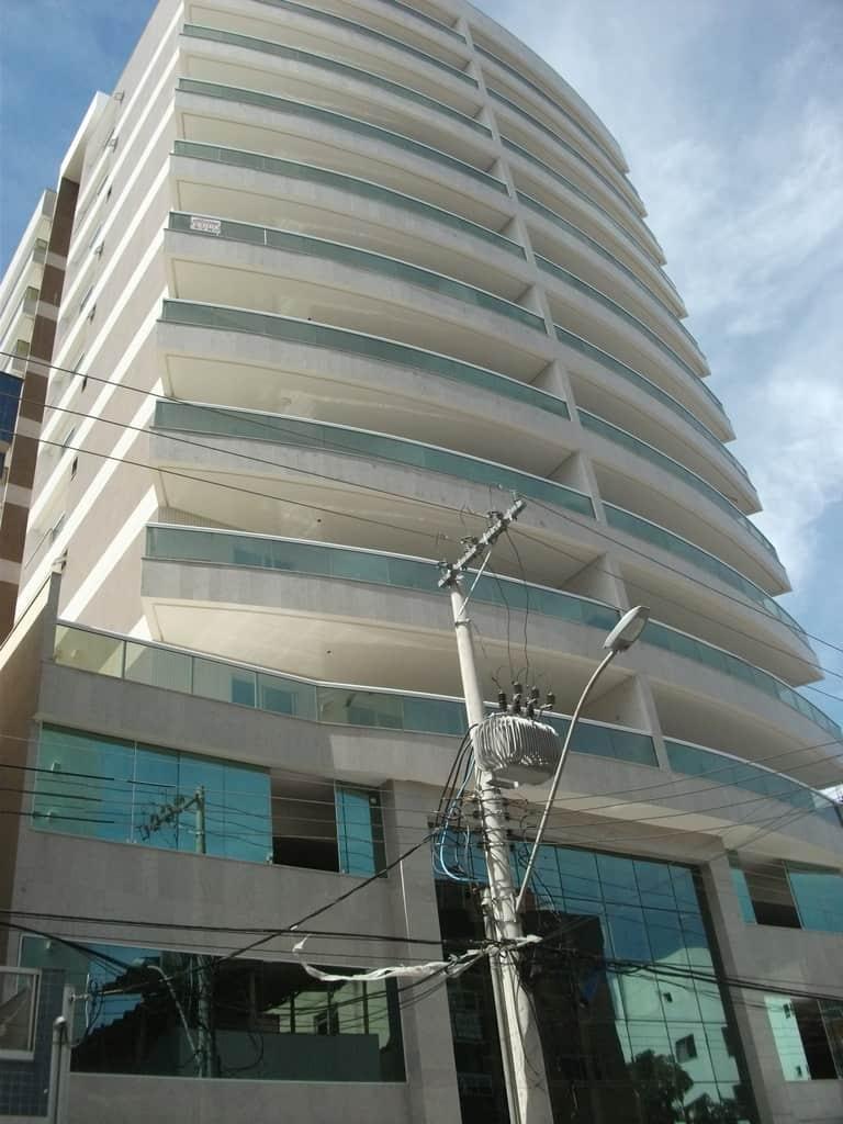 Edifício Predileto apartamento 3 quartos vista mar Praia do Morro Guarapari ES