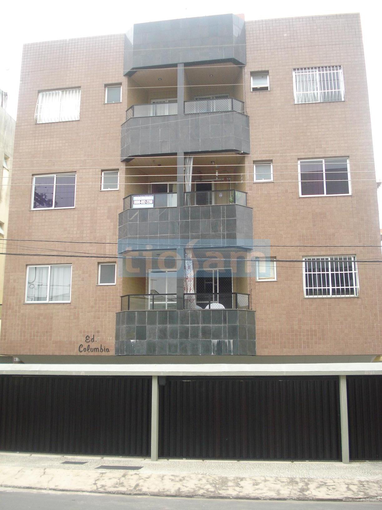 Apartamento dois quartos com 2 vagas de garagem Edifício Columbia Praia do Morro Guarapari ES
