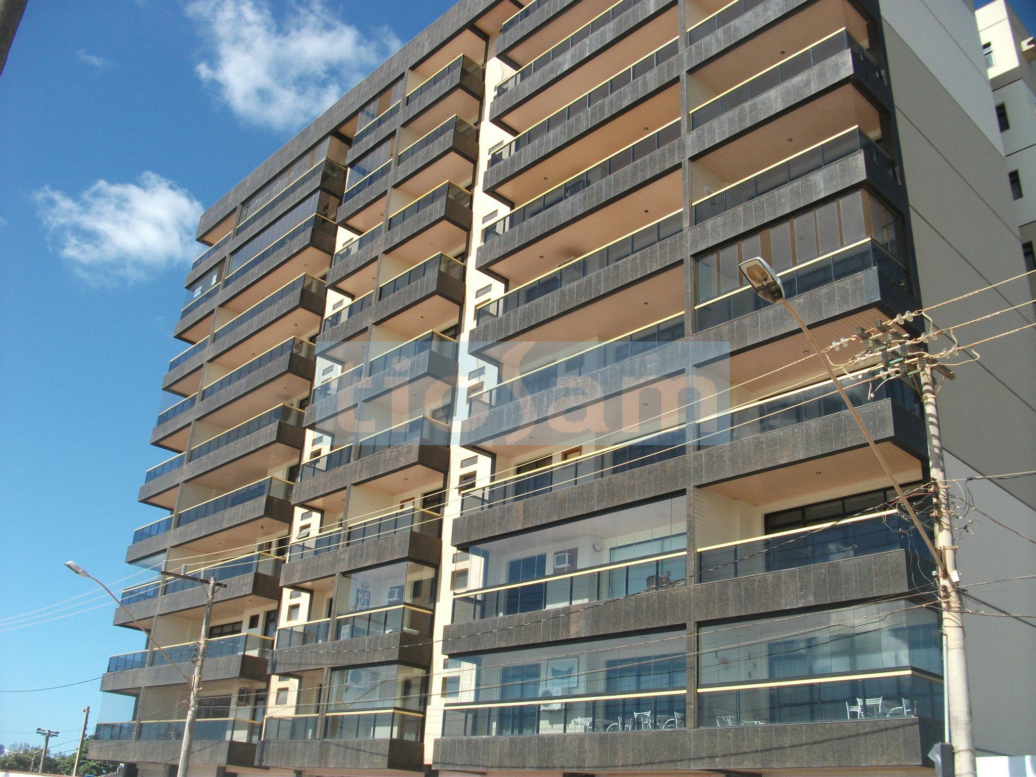 Apartamento 3 quartos frente mar com lazer Praia do Morro Guarapari ES