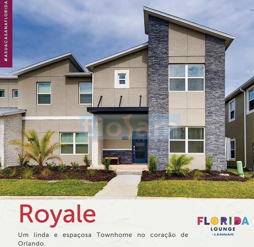 Townhome Royale em Orlando Flórida USA
