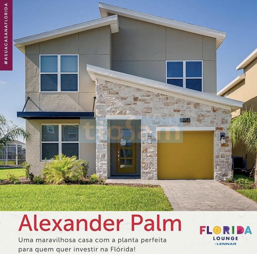 Casa com 5 quartos no condomínio Alexander Palm Orlando FL USA